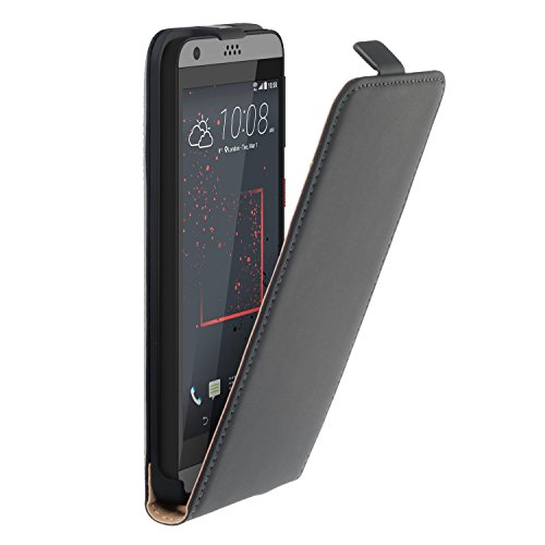 yayago Flip Tasche für HTC Desire 530 / Desire 630 Schutzhülle Flip Case Hülle Klapphülle Schwarz