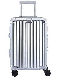 Caja Vertical De Aluminio con Ruedas Maleta Universal para Ruedas Maleta De 20 Pulgadas Embarque Empresarial