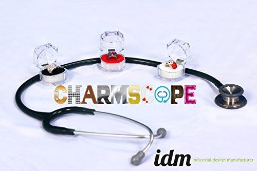 Stethoskop Schmuck Charmscope - Furz Spule Sammlung