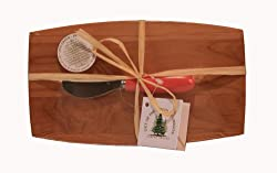 Out of the Woods of Oregon Pate Board with Spreader, Pink
