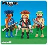 Playmobil - 6290 - Deux pirates et une femme pirate