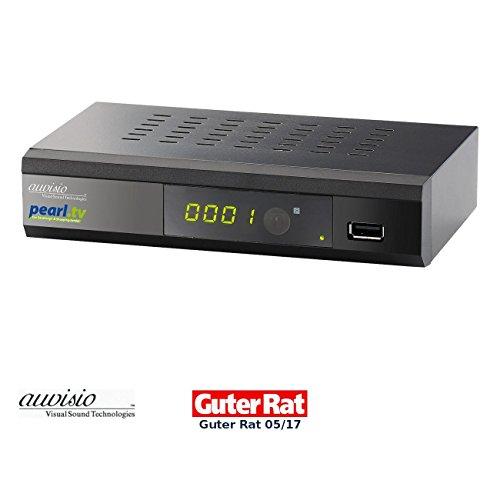 auvisio DVB C2 HD Kabelreceiver: Digitaler pearl.tv DVB-C-Kabelreceiver DCR-100.fhd, Full HD (DVB-c Receiver)