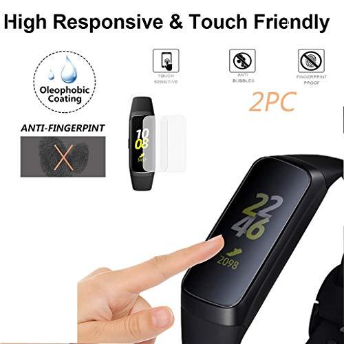 Webla 2pcs explosionsgeschützte transparente Haustier Displayschutzfolie für Samsung Galaxy Fit-e (Pet-flug-fall)