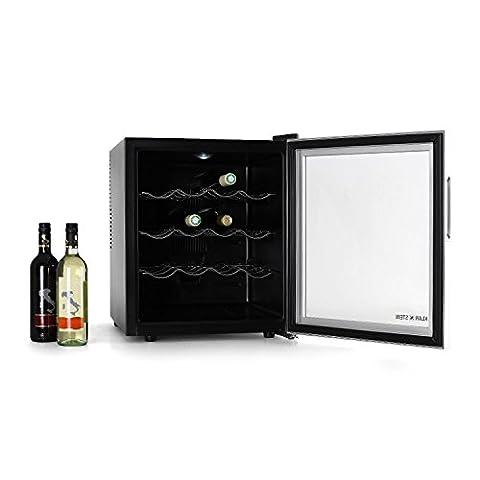 Klarstein 10002140 Mini-Kühlschrank / D / 412 kWh/Jahr / 47 cm / 50 Liter Kühlteil / Weinkühlschrank / (Kühlschrank Lila)