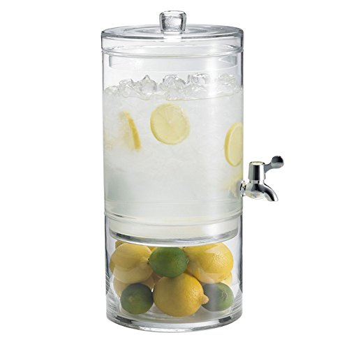 Artland Simplicity 2-Gallon Beverage Dispenser with Lid, 2-Part by Artland -