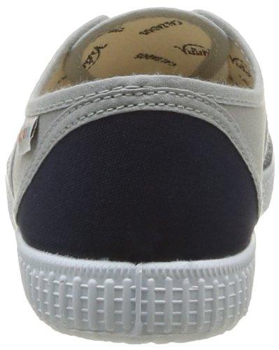 Victoria Inglesa Bicolor, Baskets Basses mixte adulte Gris (111 Gris-Marino)