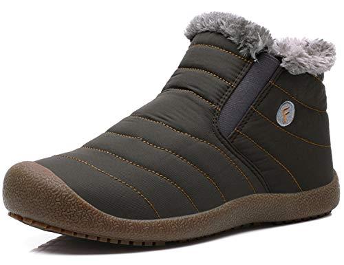 SINOES Zapatillas de Senderismo Hombre Mujer Outdoor Impermeables Trekking...