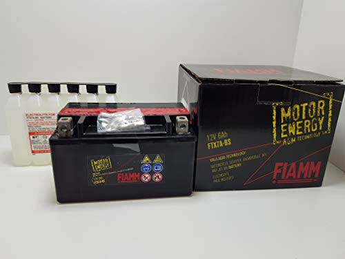 BATTERIA FIAMM YTX7A-BS AGILITY PEOPLE 125 150 200
