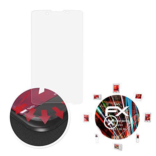 atFolix Schutzfolie passend für Cyrus CS 25 / CS 30 Folie, entspiegelnde & Flexible FX Bildschirmschutzfolie (3X)