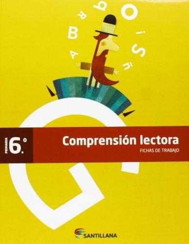 FICHAS COMPRENSION LECTORA 6 PRIMARIA - 9788468012940 por Vv.Aa.