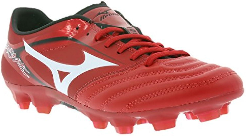 Mizuno Basara 001 KL hombre del fútbol Botas Rojo P1GA156201, Size:41