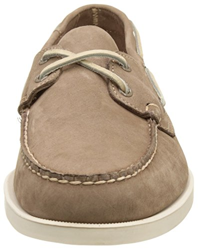 Sebago Docksides, Chaussures Bateau Homme Beige (Dk Taupe Nubuck)