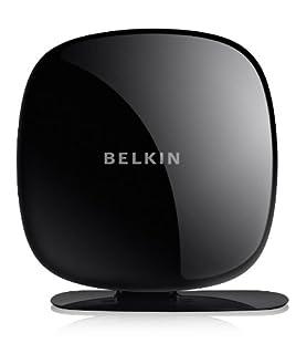 Belkin Play N750DB WLAN-Router NextNet 2.0 (bis zu 300 Mbit/s + 450 Mbit/s) schwarz (B00565Z978) | Amazon price tracker / tracking, Amazon price history charts, Amazon price watches, Amazon price drop alerts