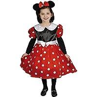 Dress Up America 290-S - Costume Set signora Mouse in versione deluxe, 4-6 anni, vita 74 cm, altezza 107 cm, multicolore