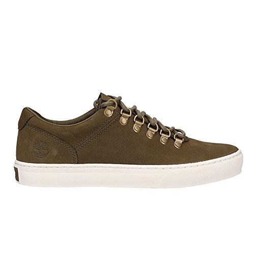 Timberland CA1OVX Mens Green Leather Sneakers  7 UK