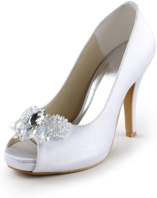 Jia Jia Wedding 085561 chaussures de mariage mariée mariage de Escarpins pour femmeB00FVUQLRAParent 72046d
