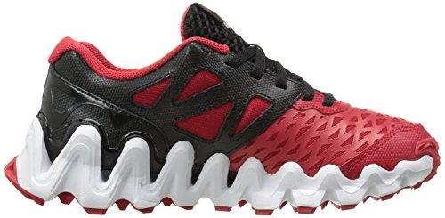 Reebok Zigtech Big N Tough Synthétique Chaussure de Course Blck-red-Wht