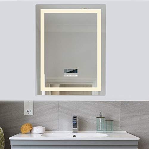Turefans Espejo de baño,Audio Bluetooth