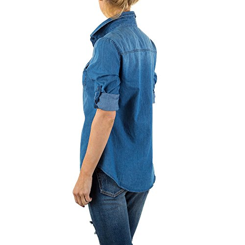 iTaL-dESiGn - Chemisier - Femme Bleu