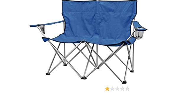 Peachy Double Folding Camping Chair Amazon Co Uk Sports Outdoors Pabps2019 Chair Design Images Pabps2019Com