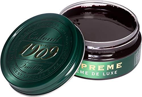 Collonil 1909 CRÈME DE Luxe D 100 ML Bordeaux-Mahagoni Schuhcreme & Pflegeprodukte, Rot, Unisize -