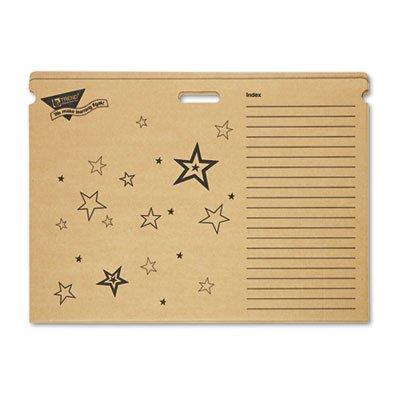 Datei 'n Save System Diagramm Aufbewahrung Ordner, 30-1/2x 22-1/2, bright stars design, verkauft als 1, je 20Pack, Gesamt je 20 - Storage-systeme Klassenzimmer
