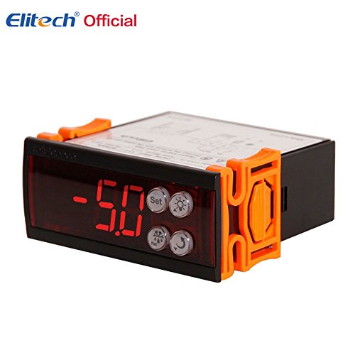 Elitech 220V Digitaler Temperaturregler Thermoelement -50 ℃ bis 85 ℃