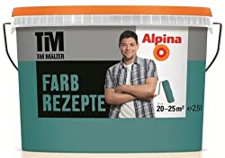 ALPINA Farbe Farbrezepte 2,5 L. Petrol de Luxe