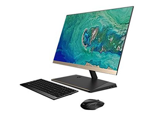 Acer Aspire S24-880 1.6GHz i5-8250U 23.8Zoll 1920 x 1080Pixel Schwarz - Gold All-in-One-PC, - All I5 In One Acer