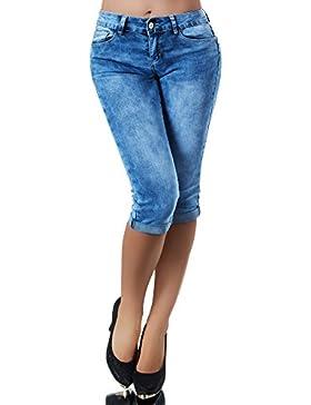 Diva-Jeans Pantalón corto - Capri - Básico - para mujer