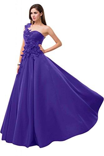 Sunvary uno Chiffon spalla elegante Bridesmaid Pageant, decorazioni varie Champagne