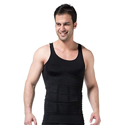 BaronHong gynécomastie Compression Chemise Homme Cacher Boobs Moobs enlever Les Hommes Shapewear
