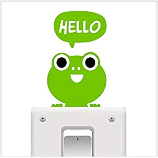 Frog Pet Light Switch Funny Wall Decal Vinyl Sticker