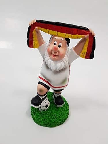 Fußball Fan-Gartenzwerg