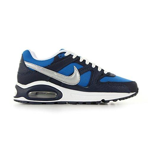 Nike Air Max Command (Gs) Calzatura MLTRY BL/MTLLC SLVR-OBSDN-WHT