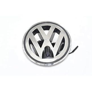 XCarlink-Front-Kamera-fr-Volkswagen-im-W-perfekt-unauffllig-ins-Front-Emblem-integriert