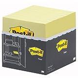 Post-it 654Y-16 Haftnotiz Notes Vorteils-Pack, 76 x 76 mm, 70 g/qm, 100 Blatt, 16 Block, gelb
