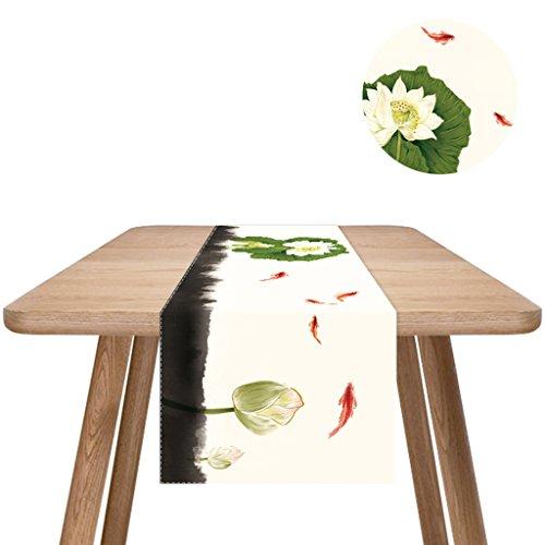 QiangZi Nappe Coton Et Lin Peintures De Van Gogh Rectangle Enfants Parti Table Runners Salon Cuisine 33 * 150 Cm ( Couleur : Style5 , taille : 33*200cm )