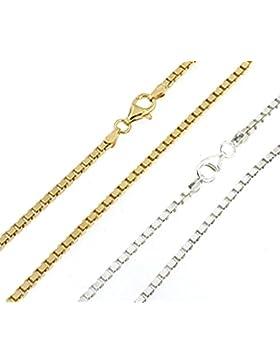 Venezianer-Kette o. Venezianer-Armband 925 Silber o. Silber vergoldet Silber-Kette Goldkette Halskette Herren...