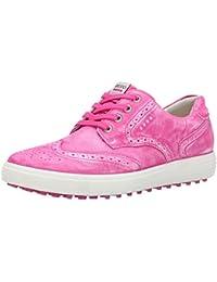 ECCO Womens Golf Casual Hybrid - Zapatos de Golf Mujer