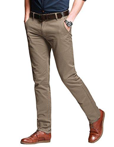 Match Herren Slim Casual Hose #8050 8106 Licht khaki