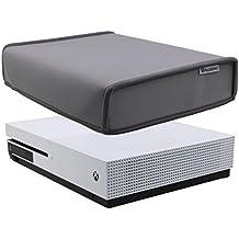 Pandaren® poussière Preuve néoprène Cover couverture manches pour Xbox One S console horizontale lieu (le style PSone 20 ans Édition grise)