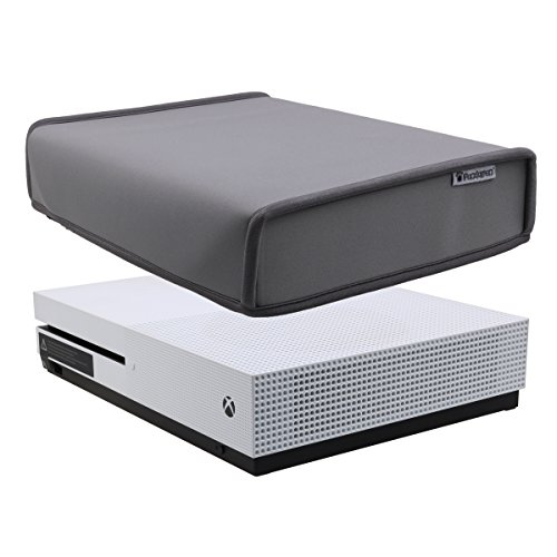 Pandaren® Staub Beweis Neoprene Cover Abdeckung horizontal für Xbox One S (grau) (One-staub-abdeckung Xbox)