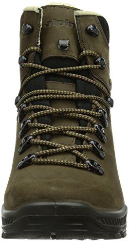 Alpina 680305, Chaussures de Randonnée Hautes Homme Marron (Braun)