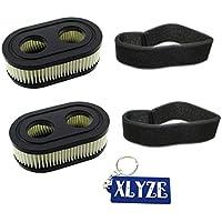 xlyze 2sets de filtro de aire para Briggs & Stratton 424754325432K 59326079845209P702798513láser 550E 550EX serie