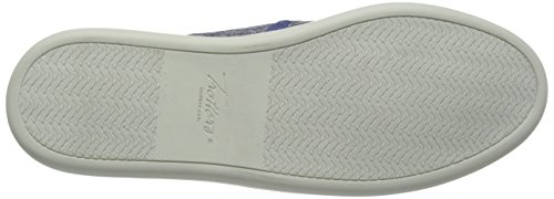 Trotters americana Large Toile Mocassin blue