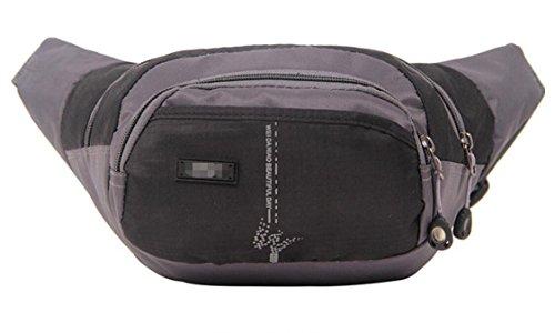 ZYT Taschen Nylon wasserdicht outdoor Sport Männer und Frauen Reiten Ranzen ändern Stoff-Taschen Black