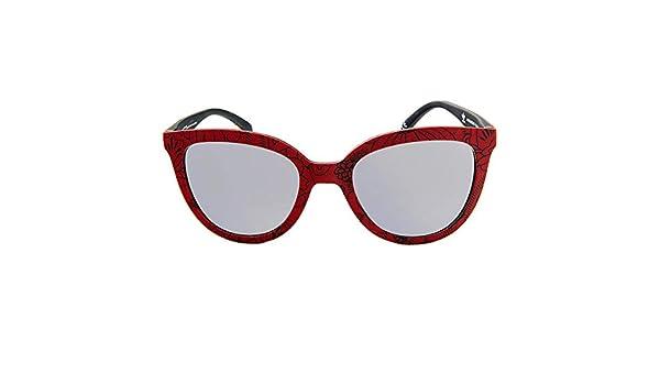 adidas S0326385 Lunettes de soleil, Rouge, 5120140 Mixte