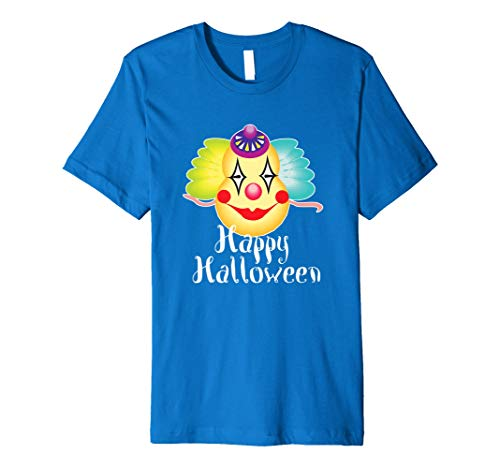 Scary Clown With Balloons Halloween Party Gifts T Shirt Tee