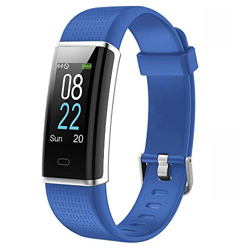 YAMAY Fitness Armband,Wasserdicht IP68 Fitness Tracker mit Pulsmesser 0,96 Zoll Farbbildschirm Aktivitätstracker Fitness Uhr Smartwatch,Pulsuhren,Schrittzähler Uhr,Smart Watch für Damen Herren -